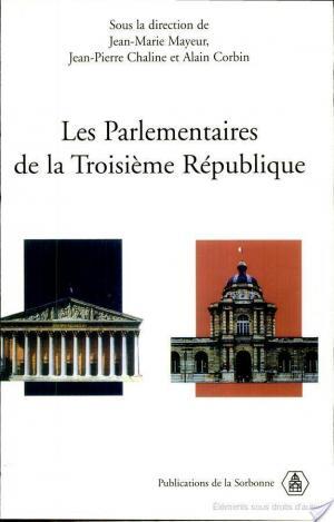 Affiche Les parlementaires de la troisième république