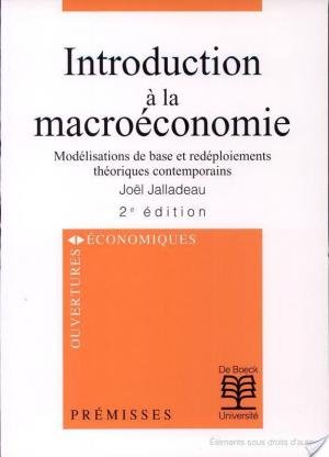 Boite de  INTRODUCTION A LA MACROECONOMIE.