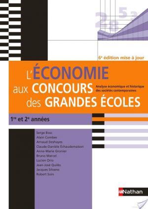 Affiche L'économie aux concours des grandes écoles - 6ème édition