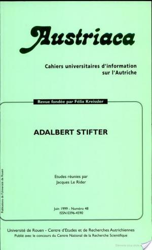 Affiche Adalbert Stifter