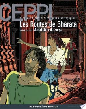 Affiche Stéphane Clément, chroniques d'un voyageur T4 : Les Routes de Bharata - La Malédiction de Surya