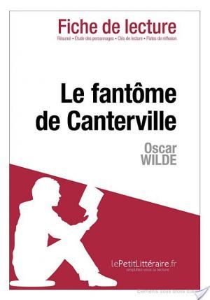 Affiche Le Fantôme de Canterville de Oscar Wilde (Fiche de lecture)