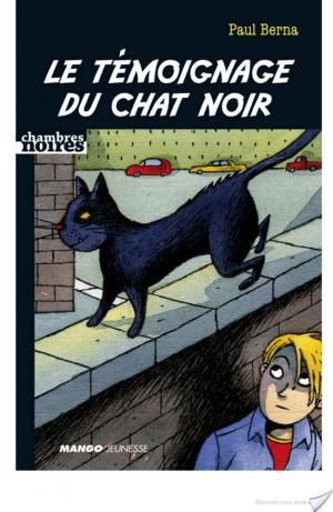 Affiche Le témoignage du chat noir