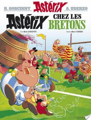 Affiche Astérix - Astérix chez les bretons -