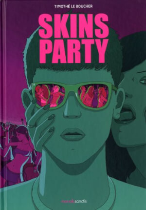 affiche Skins party