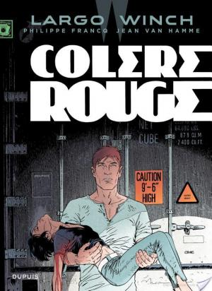Affiche Largo Winch - tome 18 - Colère rouge