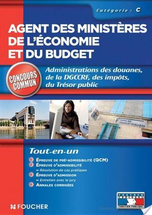 Affiche Agent des ministères de l'économie et du budget catégorie C