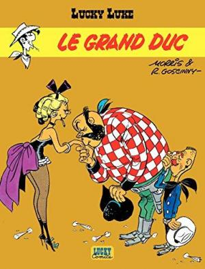 affiche Lucky Luke (Dargaud) - Tome 9