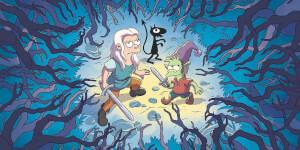 Une bande-annonce complètement barrée pour la série Désenchantée de Matt Groening