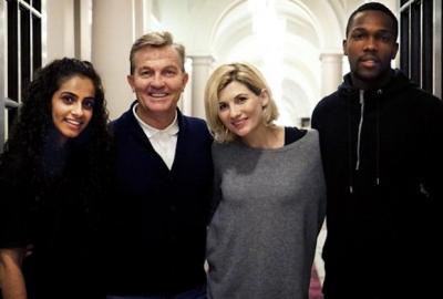 Trois nouveaux compagnons pour la nouvelle Doctor Who Jodie Whittaker