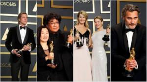 Parasite, Joaquin Phoenix, Renée Zellweger : Retrouvez le palmarès complet des Oscars 2020 !