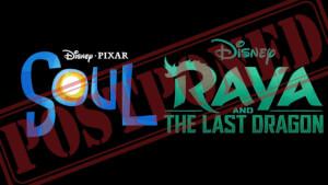 Disney décale les sorties des films Soul et Raya and the Last Dragon !