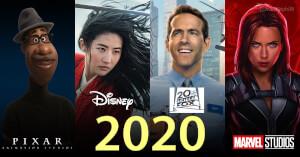 Disney dévoile son nouveau planning de sorties françaises au cinéma pour 2020 !