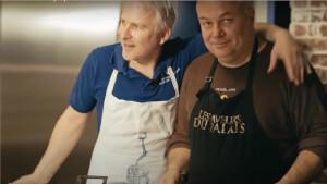 Kaamelott : Kadoc et Perceval présentent une émission culinaire intitulée Des quiches et des hommes !