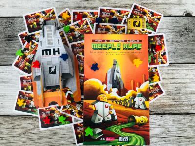 Boite Meeple Hope : Soyez le premier à embarquer !