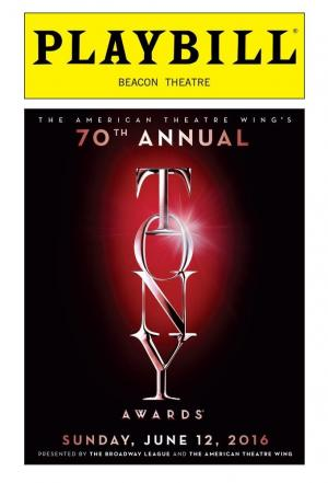 Affiche The Tony Awards