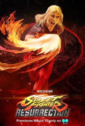 Affiche Street Fighter: Resurrection