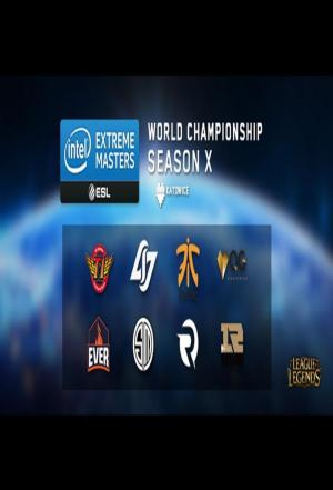 Affiche league of legend IEM Season X