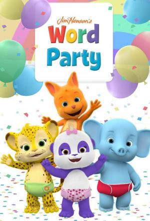 Affiche Word Party