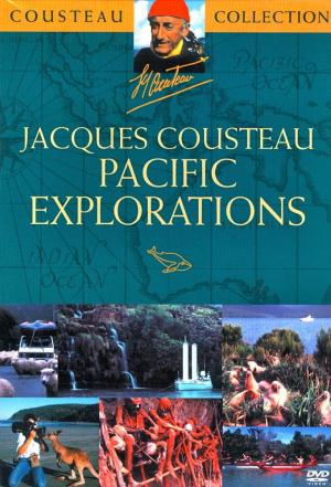 Affiche Jacques Cousteau - Pacific Explorations