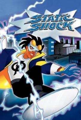 Affiche Static Shock