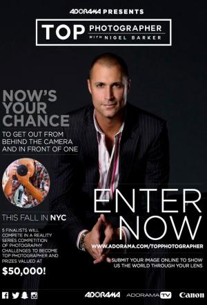 Affiche Top Photographer with Nigel Barker