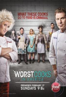 Affiche Worst Cooks in America