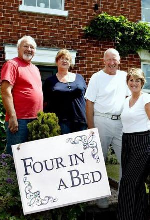 Affiche Four in a Bed