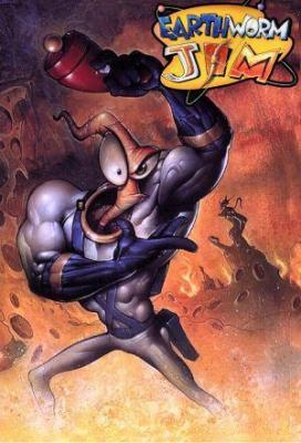 affiche Earthworm Jim