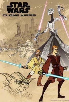Affiche Star Wars: Clone Wars