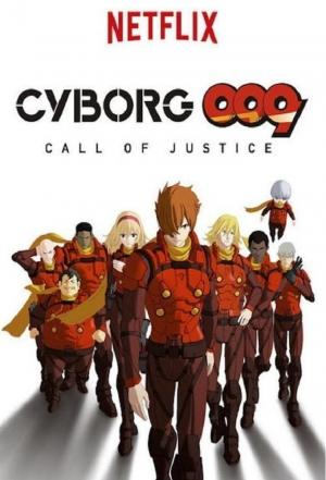 Affiche Cyborg 009: Call of Justice (2016)