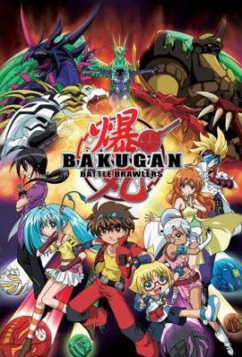 Affiche Bakugan Battle Brawlers