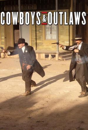affiche Cowboys and Outlaws