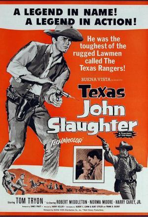 affiche Texas John Slaughter