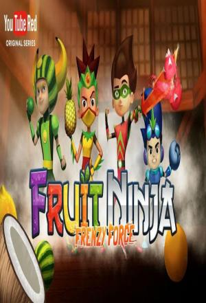 Affiche Fruit Ninja Frenzy Force