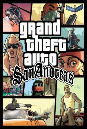 Affiche GTA San Andreas Game Mode