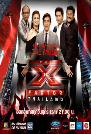 Affiche The X Factor Thailand