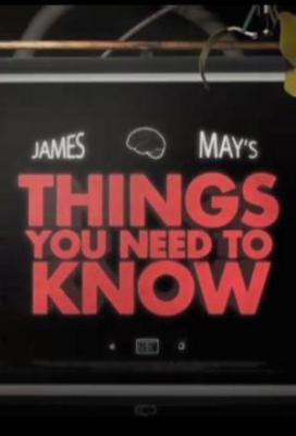Affiche James May's Things You Need to Know