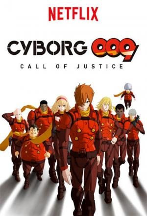 Affiche Cyborg 009: Call of Justice