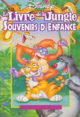 Affiche Le Livre de la jungle, souvenirs d'enfance