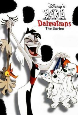 Affiche Les 101 Dalmatiens, la serie
