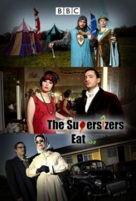 Affiche The Supersizers Eat...