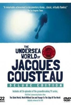 Affiche The undersea world of Jacques Cousteau