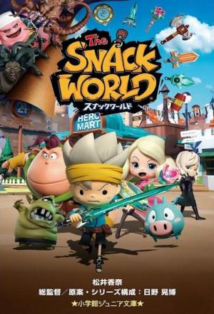 Affiche The Snack World