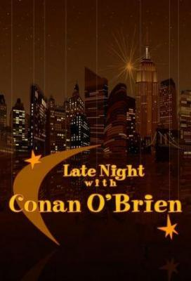 Affiche Late Night with Conan O'Brien
