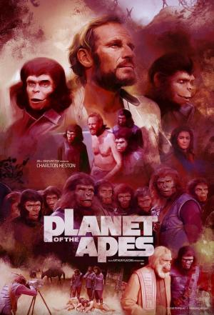 Affiche Planet of the Apes (Films)