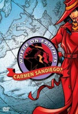 Affiche Where on Earth is Carmen Sandiego?