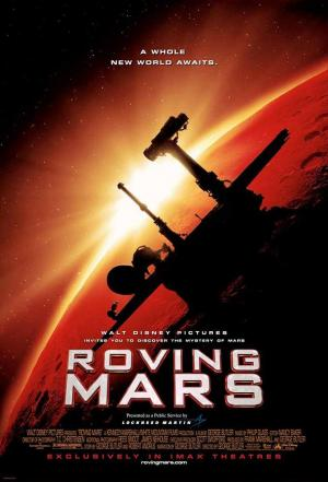 affiche Roving Mars