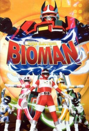 Affiche Choudenshi Bioman