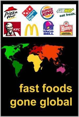 Affiche Fast Foods Gone Global